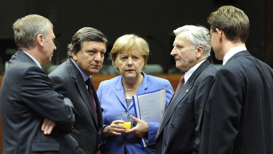 """Müde Europapolitiker: """"Rettungsroutine"""" in Brüssel"""