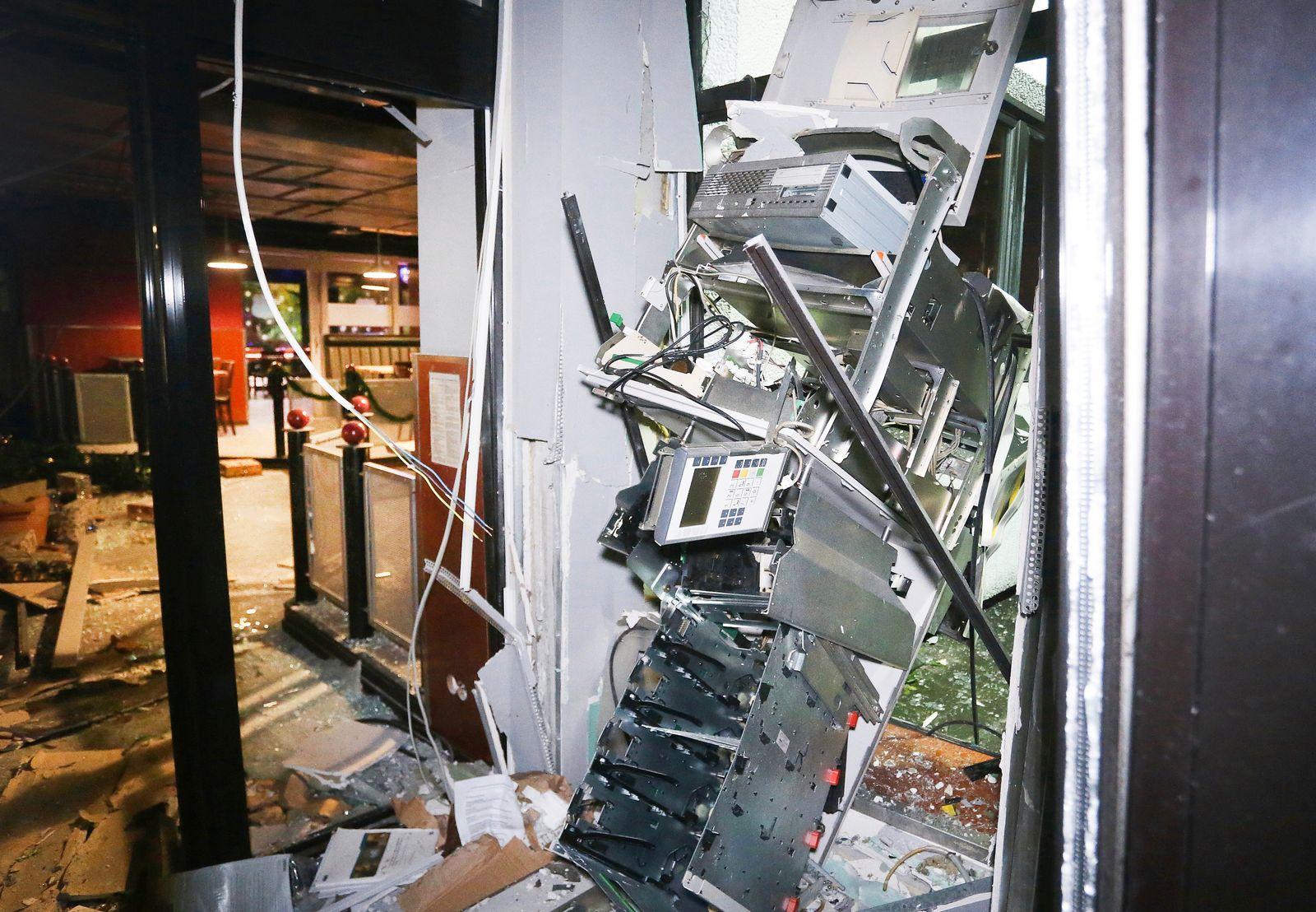 104 Geldautomaten-Sprengungen in NRW