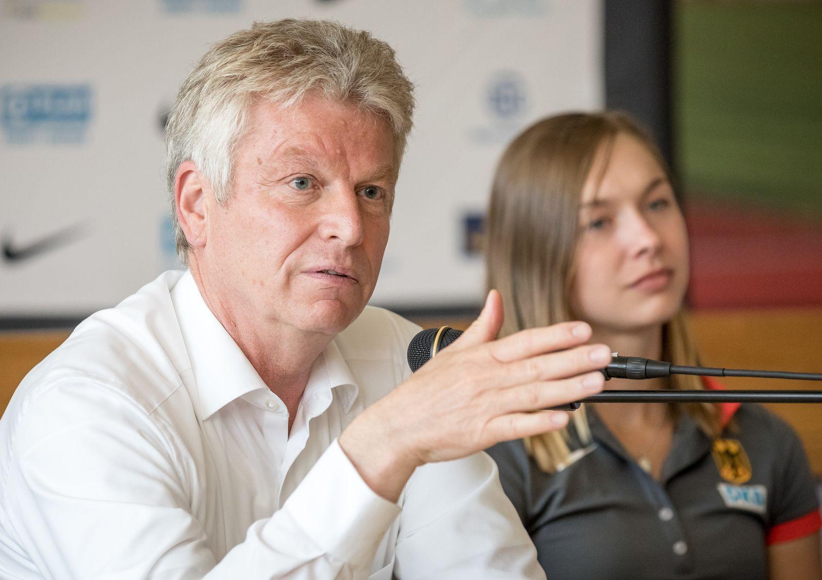 Deutscher Leichtathletikverband - Pressekonferenz
