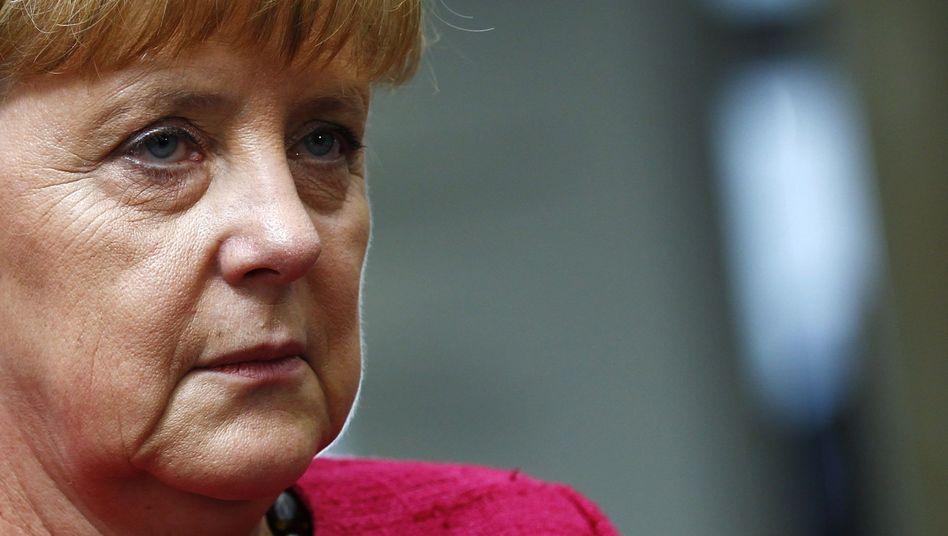 """Angela Merkel: """"Ich sehe das nicht"""""""
