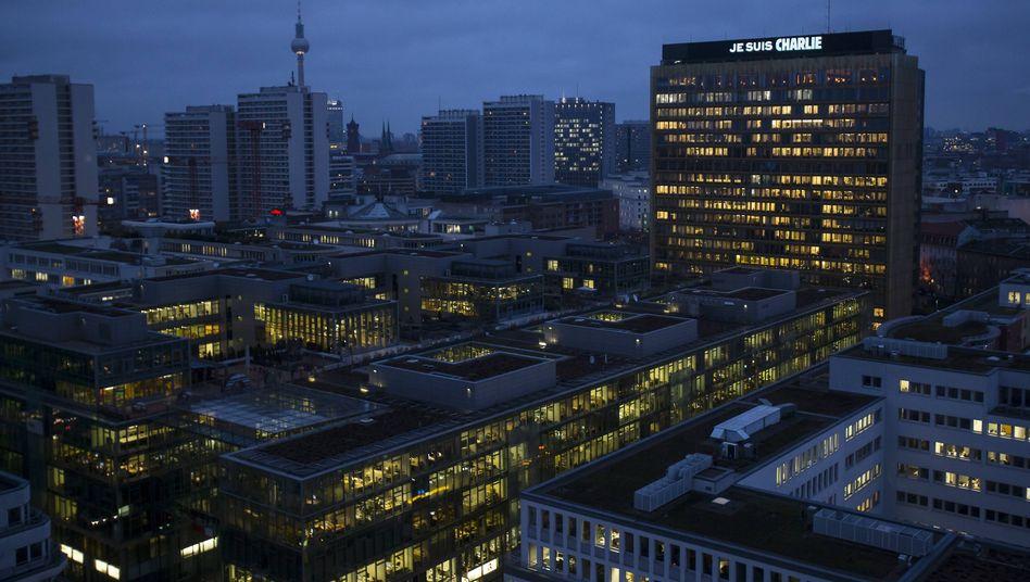 Zentrale des Springer-Konzerns in Berlin