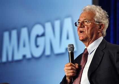 Magna chairman Frank Stronach would like to see his company purchase a 20-percent stake in GM Europe subsidiary Opel.