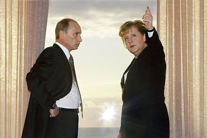 """Putin, Merkel: """"Große Schritte sind nicht zu erwarten"""""""