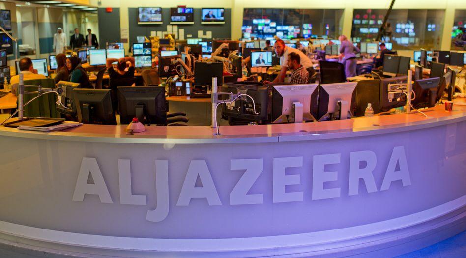 Redaktion von al-Dschasira in Doha: die NSA überwachte Mitarbeiter des Senders