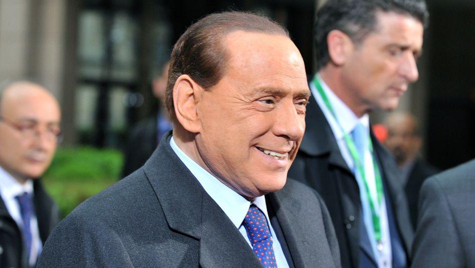 Italiens Ministerpräsident Berlusconi: Die Regierung will 24 Milliarden Euro einsparen