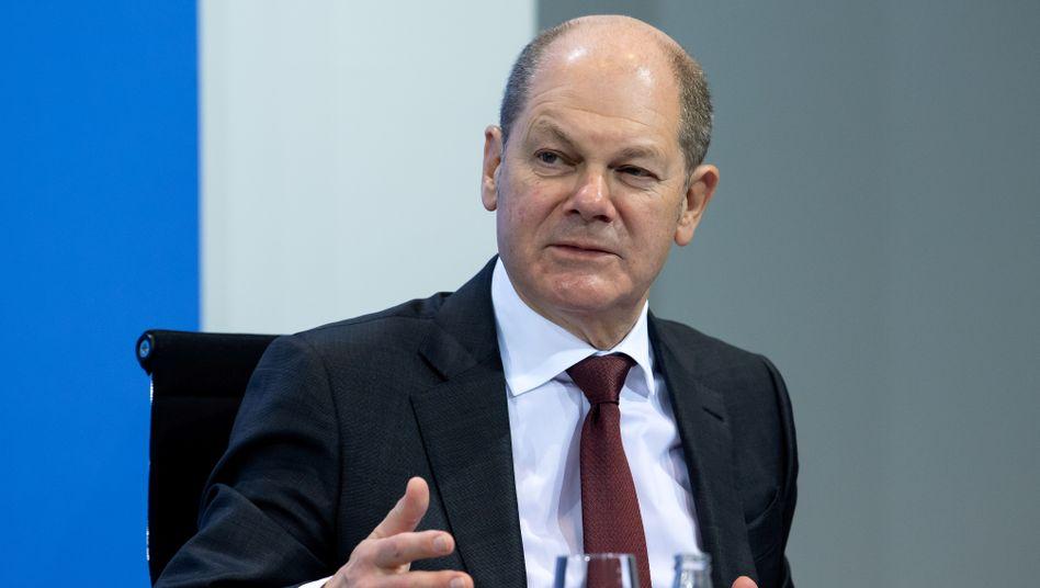 Vizekanzler Olaf Scholz