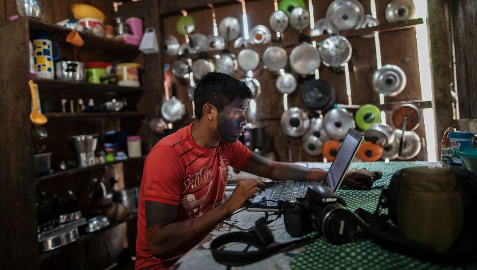 Technologie hilft dem Tembé-Stamm im Amazonasgebiet, Umweltverbrechen anzuprangern