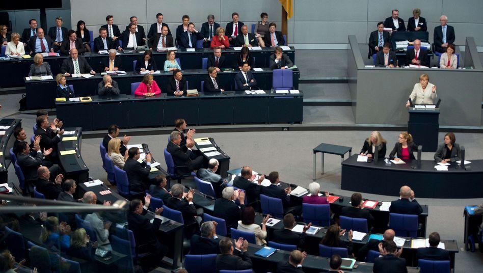 Plenarsitzung im Bundestag: Keine Mehrheit für strengere Korruptionsregeln