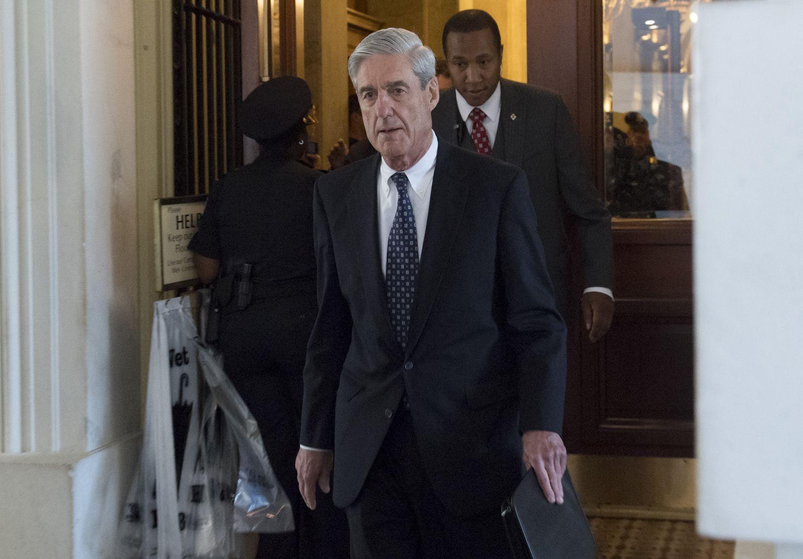 Robert Mueller/ US-POLITICS-TRUMP-MULLER