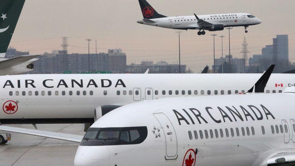 Air-Canada-Flugzeuge in Toronto: 22 Beschwerden gegen die Fluggesellschaft