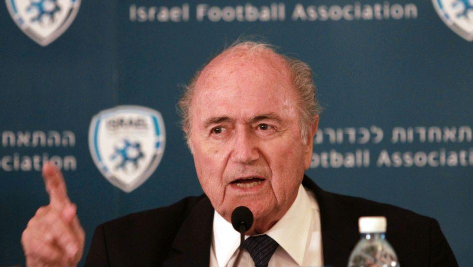 Fifa-Boss Blatter: Will wiedergewählt werden, trotz allem