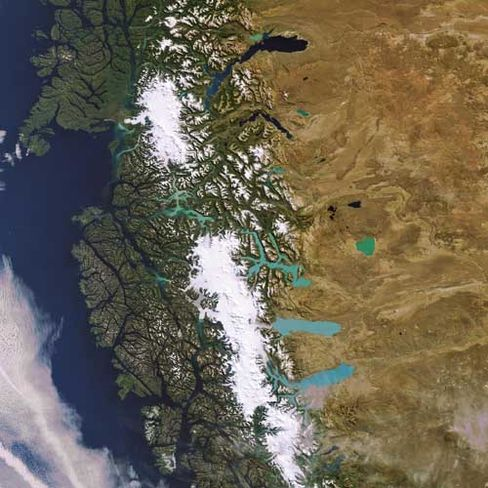 Südpatagonisches Eisfeld: Die Anden-Gletscher schmelzen immer schneller
