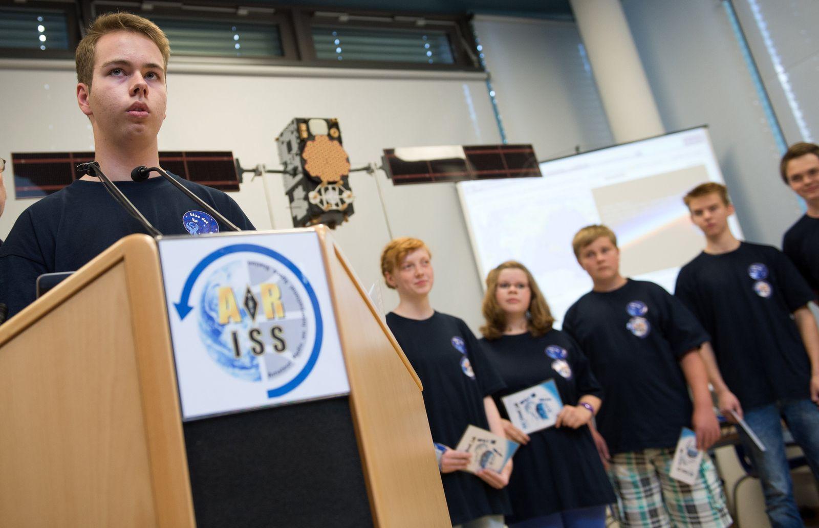 Anruf/ Schüler/ Astronaut Alexander Gerst