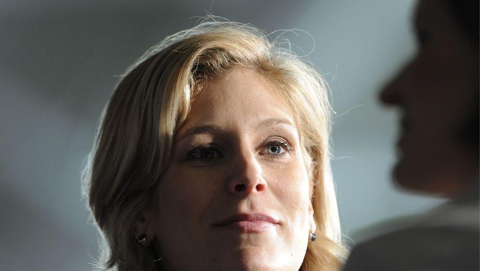 Silvana Koch-Mehrin auf einem FDP-Bundesparteitag: Kampf gegen den Titelentzug