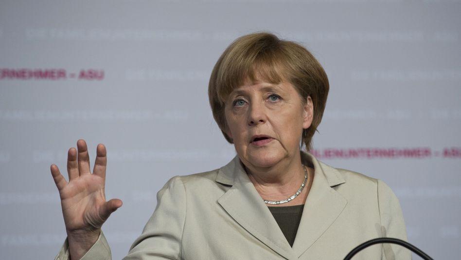 """Kanzlerin Merkel: """"Mit mir wird es keine Vermögensteuer geben"""""""