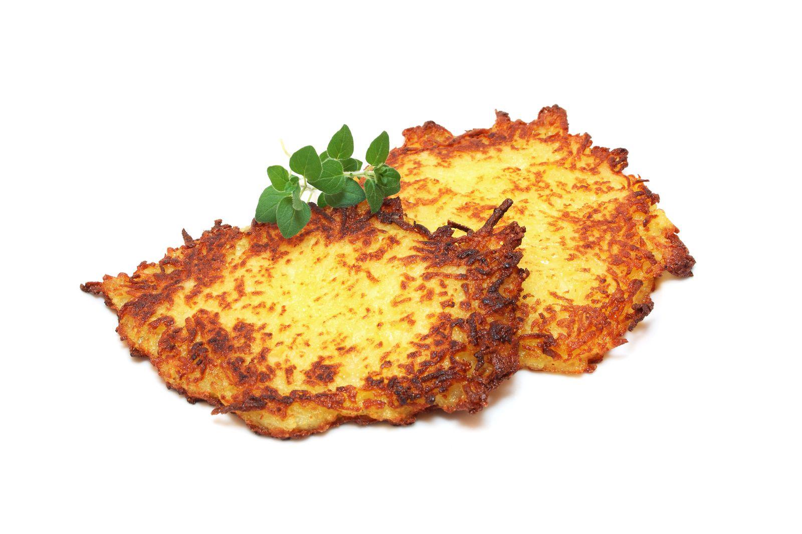 EINMALIGE VERWENDUNG Kartoffelpuffer