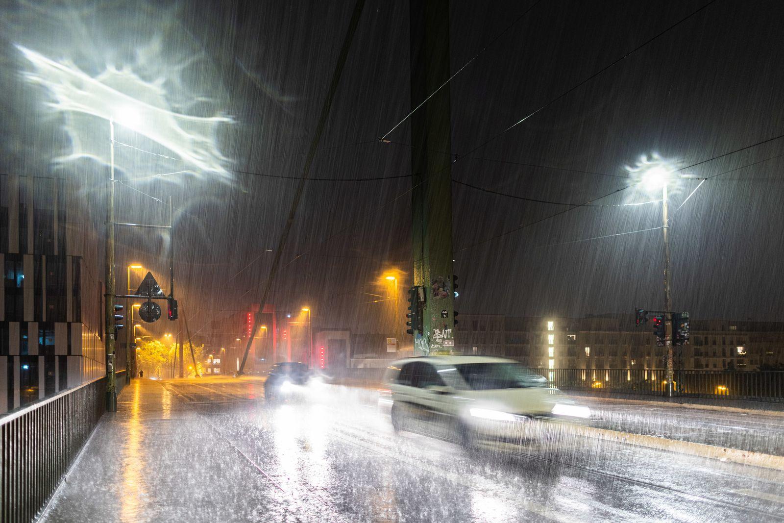 Gewitter in Nordrhein-Westfalen