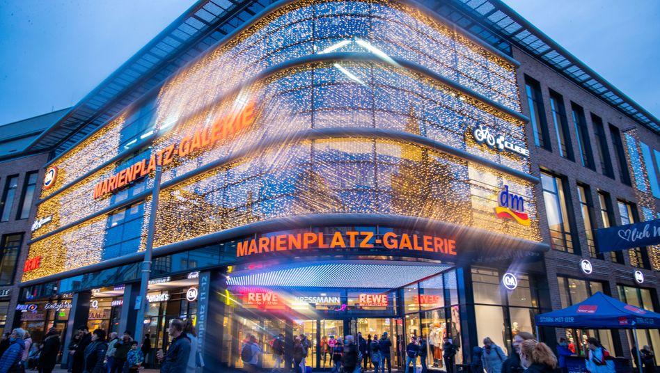 Einkaufszentrumin Schwerin