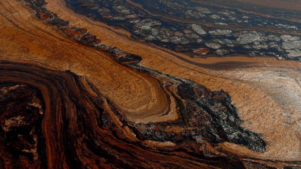 Golf von Mexiko: Ölplacken auf dem Meeresboden