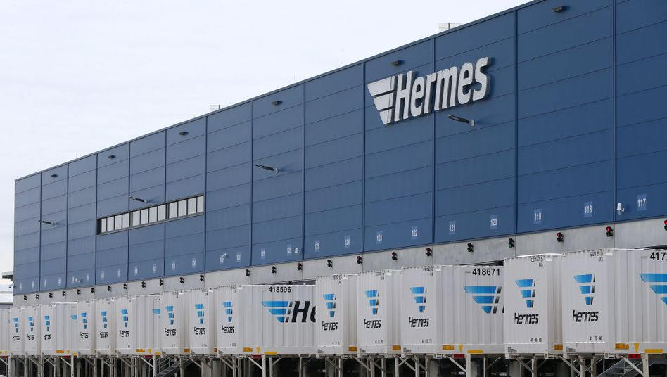 Hermes-Logistikzentrum in Bayern