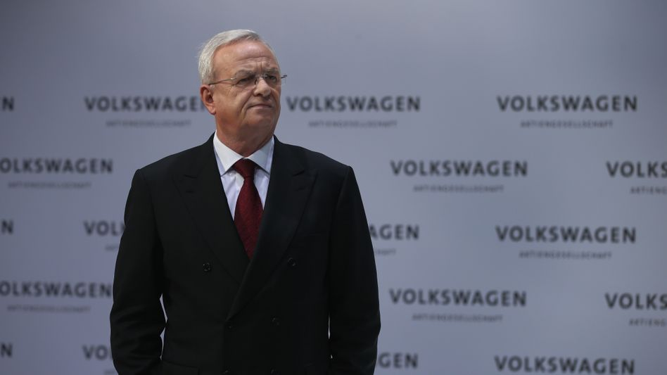 Volkswagen-Chef Winterkorn: Top-Manager auf Abruf
