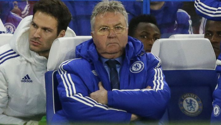 Premier League: Chelsea nur 2:2 bei Hiddink-Debüt