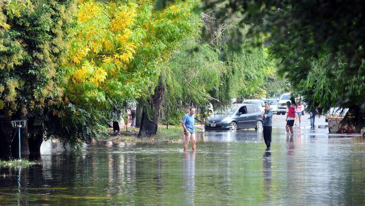 Überschwemmungen: Argentinien nach dem Rekordregen