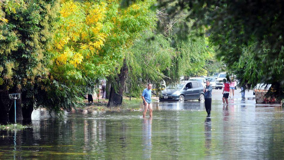 Mehr als 50 Totenach Rekordregen: Argentinische Sintflut