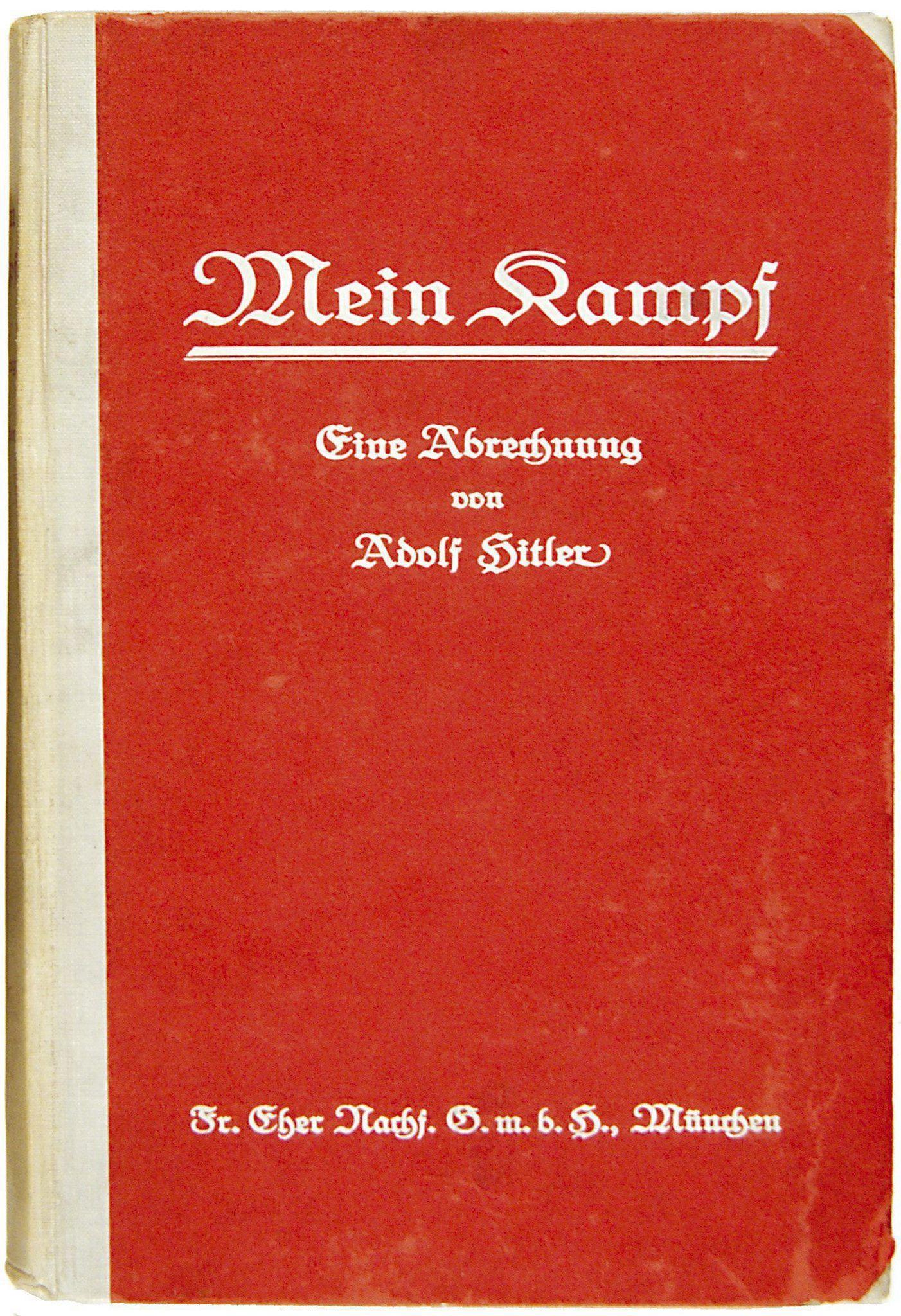 "Hitlers""Mein Kampf"""