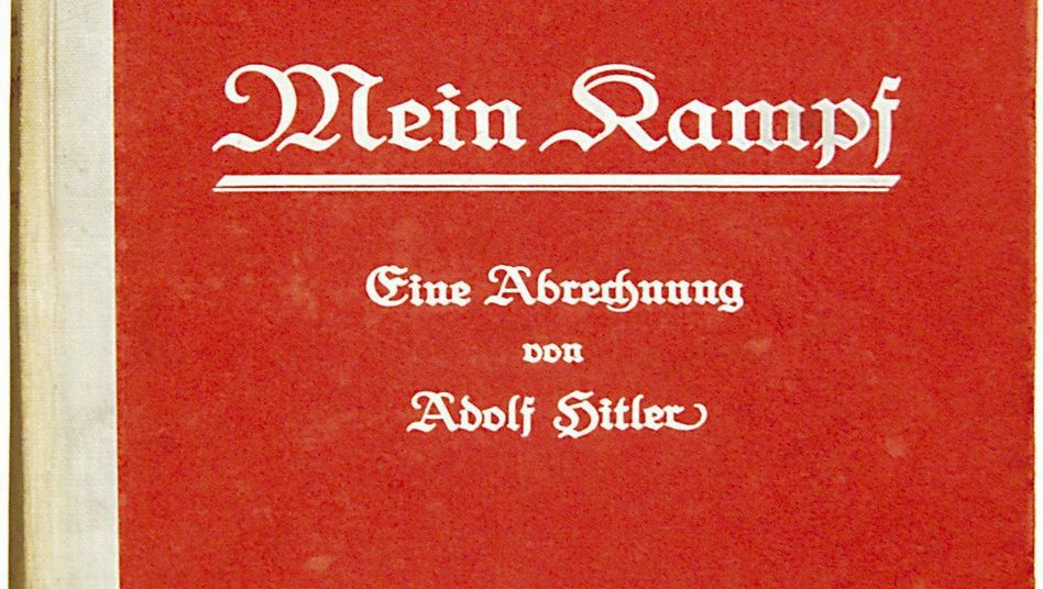 """""""Mein Kampf"""" hasn't been legally published in Germany since the end of World War II."""