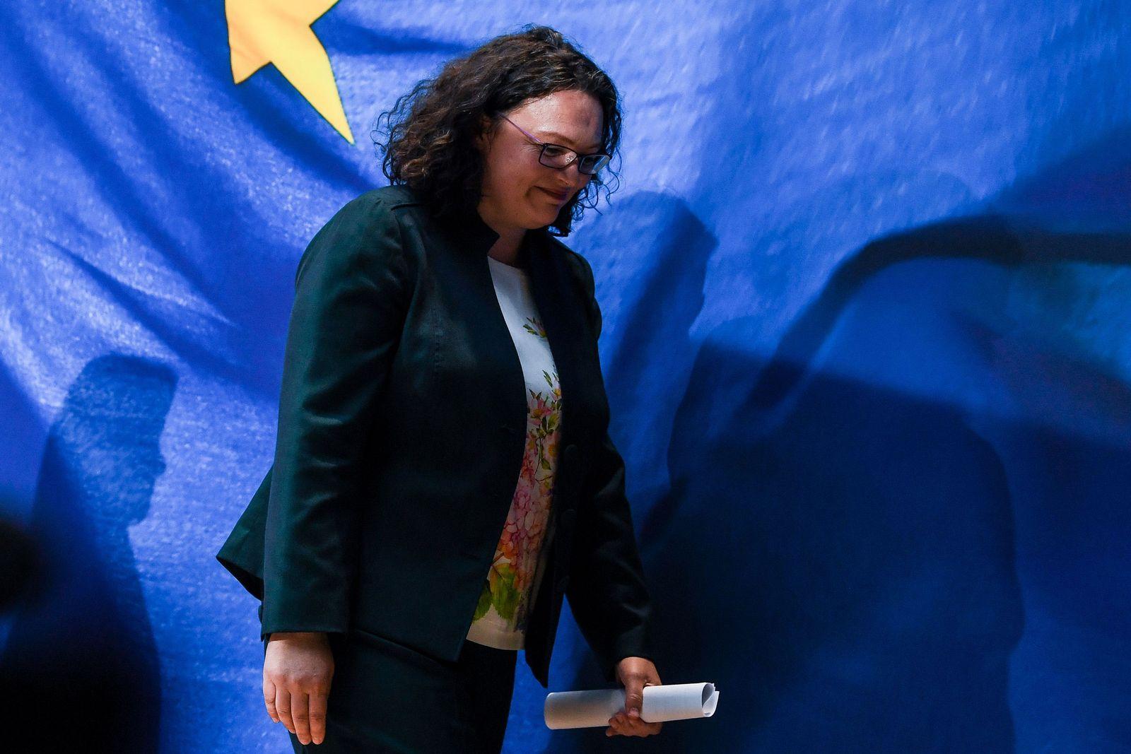 Europawahl/ Andrea Nahles