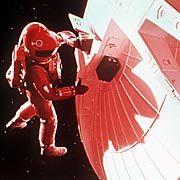 """Szene aus """"2001: Odyssee im Weltraum"""": Clarke schrieb das Drehbuch zu dem Klassiker"""