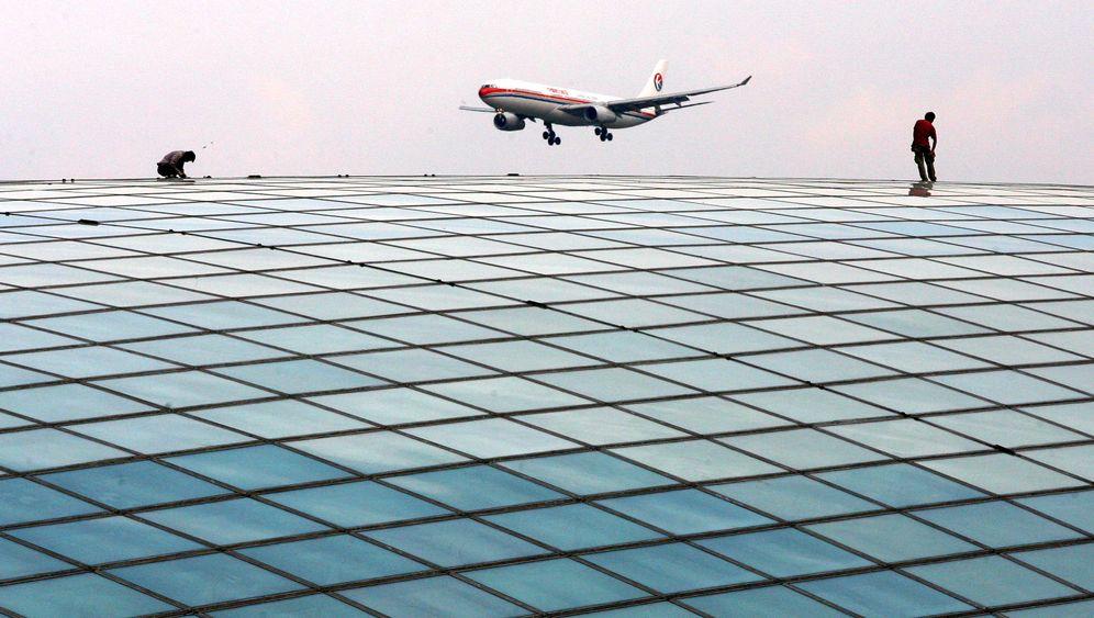 Peking: Flughafen mit Effizienzproblem