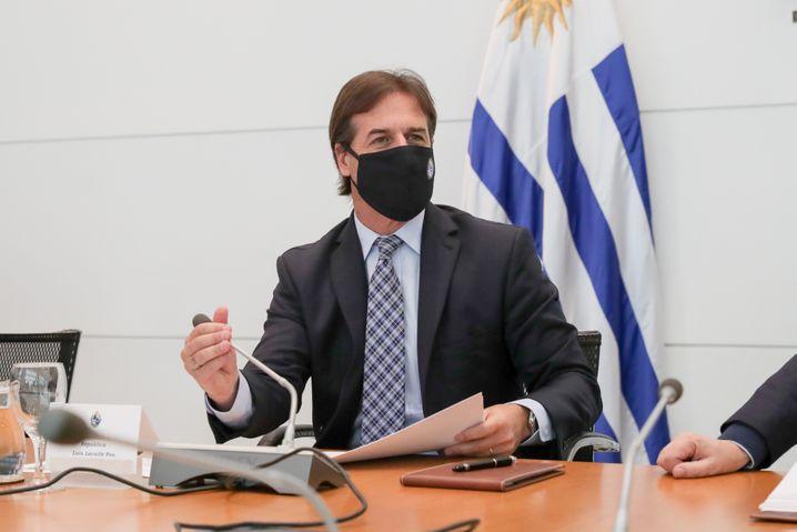 """Uruguays Präsident Luis Lacalle Pou: """"Verantwortungsvolle Freiheit"""""""