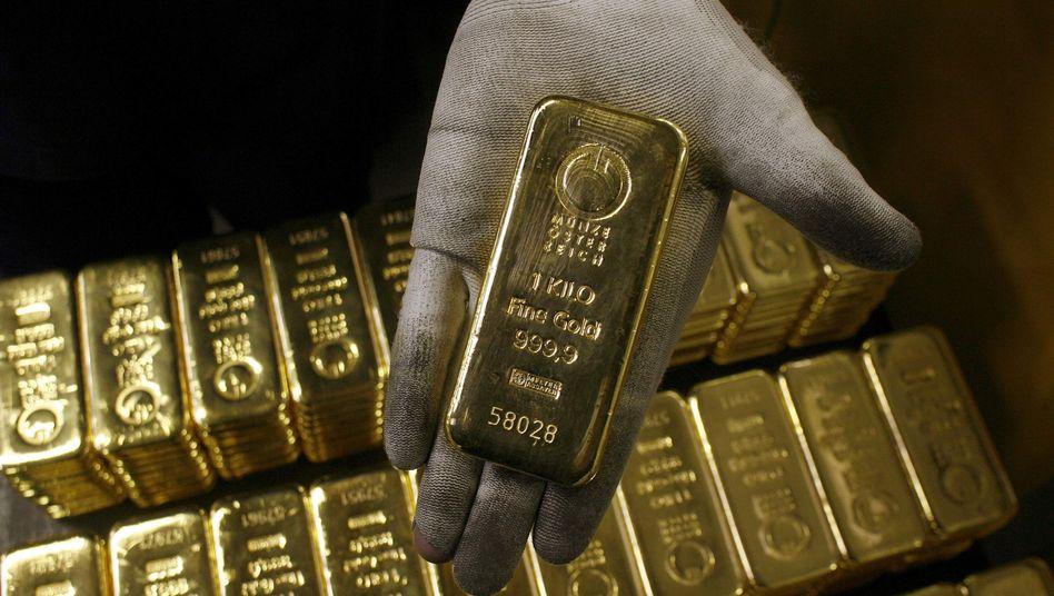 Goldbarren: Ihr Wert hat sich innerhalb von fünf Jahren verdreifacht