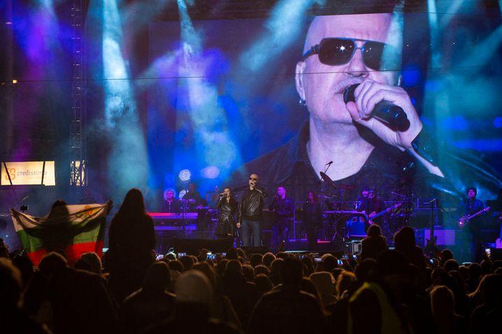 Entertainer Trifonov 2016 bei einem Konzert in Sofia