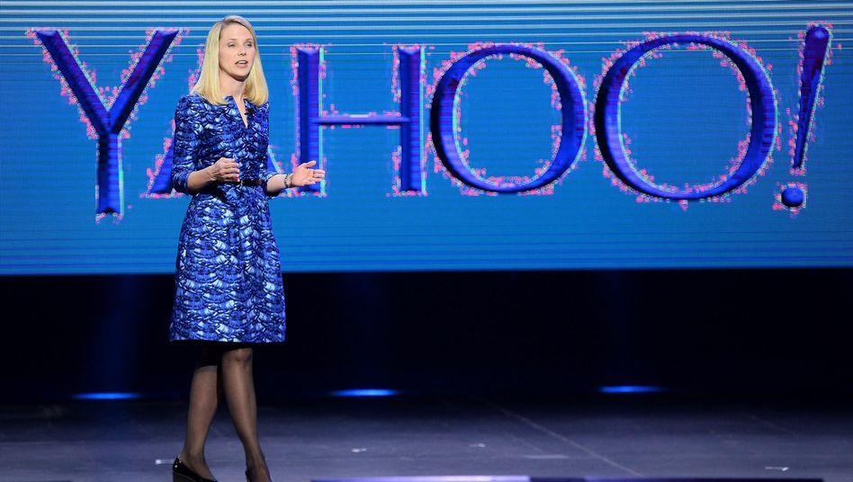 """Yahoo-Chefin Marissa Mayer (im Januar): Schwierige Zukunft für """"Do Not Track"""""""