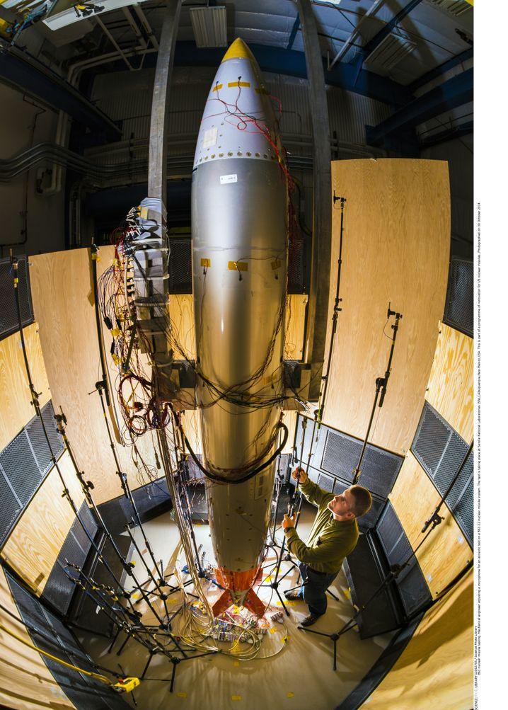 US-Atombombe B61-12 (im Waffenentwicklungslabor der Sandia National Laboratories in Albuquerque): Glaubhafte Drohkulisse