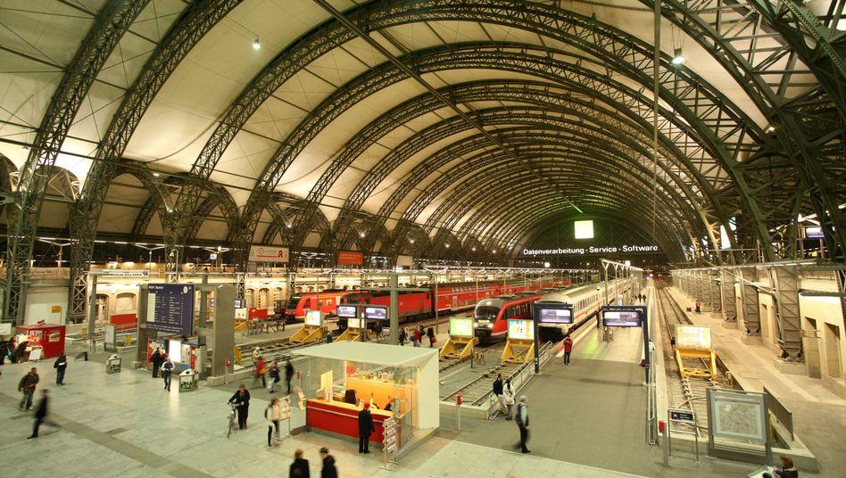 Hauptbahnhof in Dresden: Als ein mutmaßliches Ziel genannt