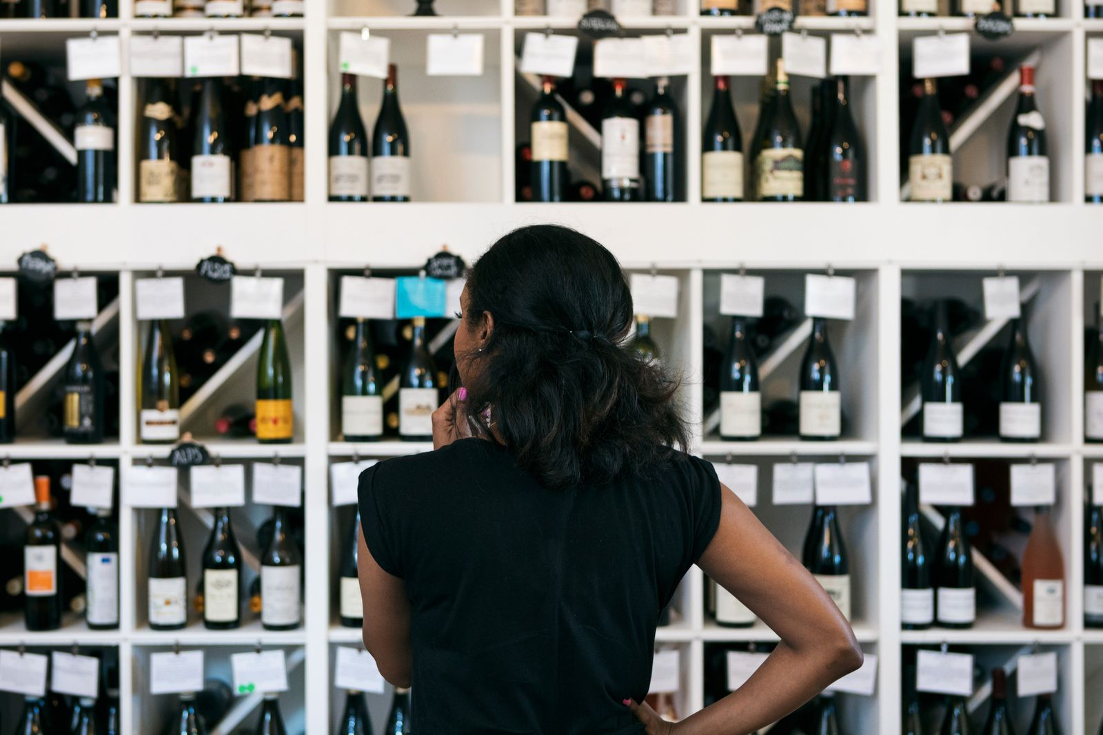 Wine: Customer Confused By So Many Choices In Wine