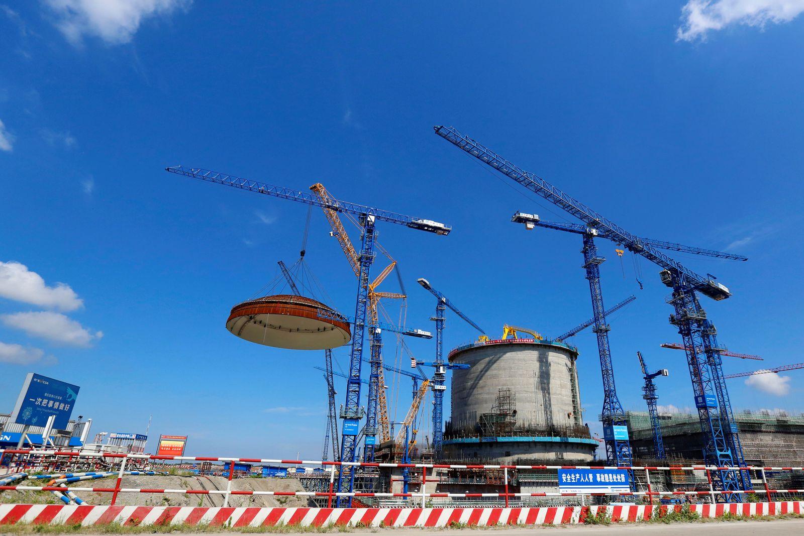 China/ Atomkraftwerk