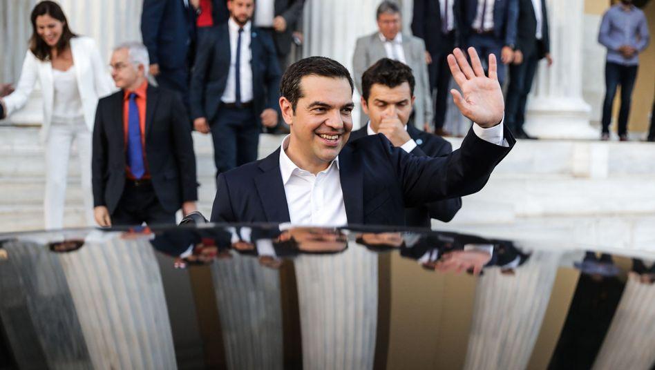 Ministerpräsident Alexis Tsipras