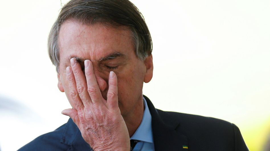 Brasiliens Präsident Jair Bolsonaro hat Ärger mit Justiz und Parlament