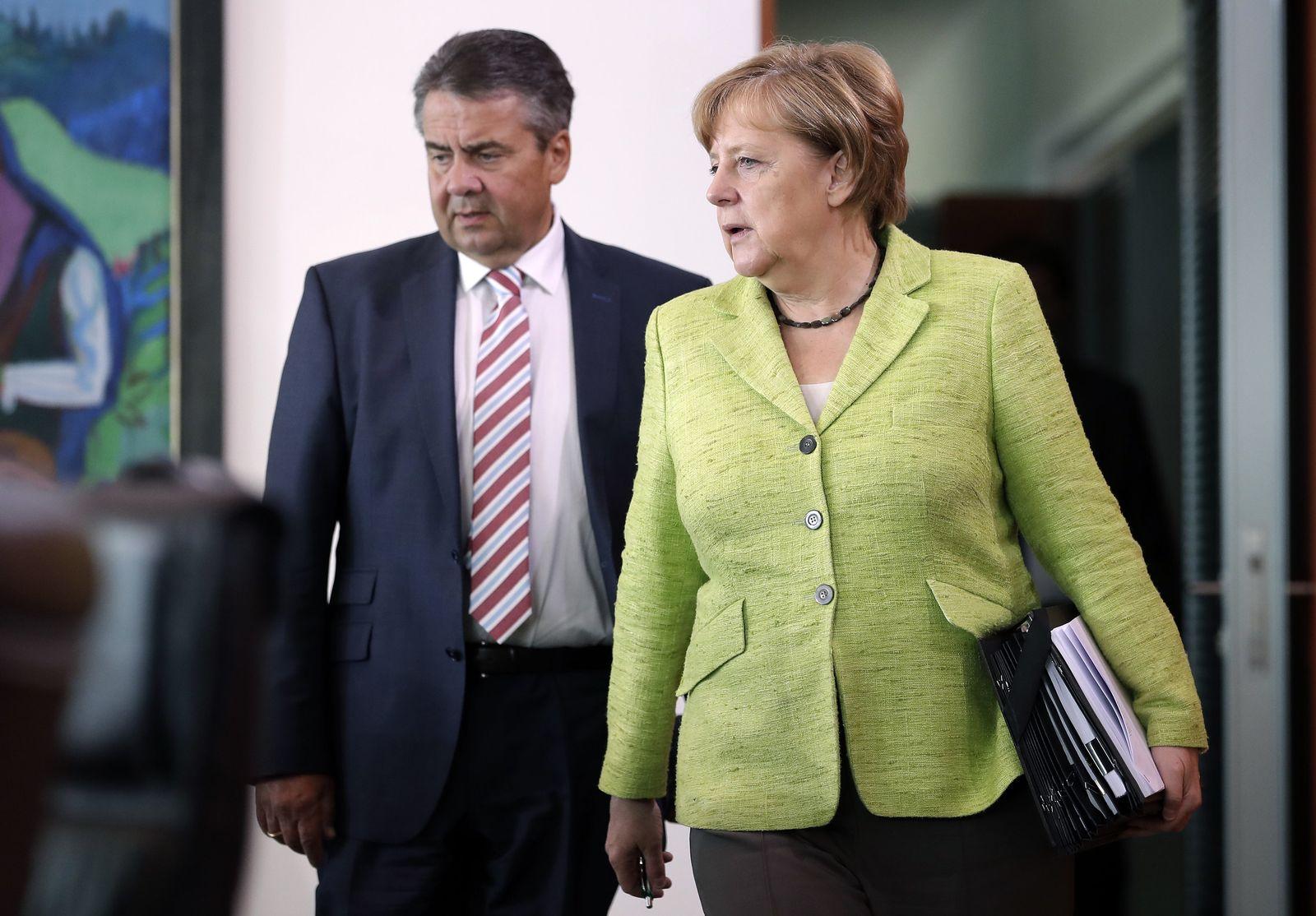 Gabriel/ Merkel