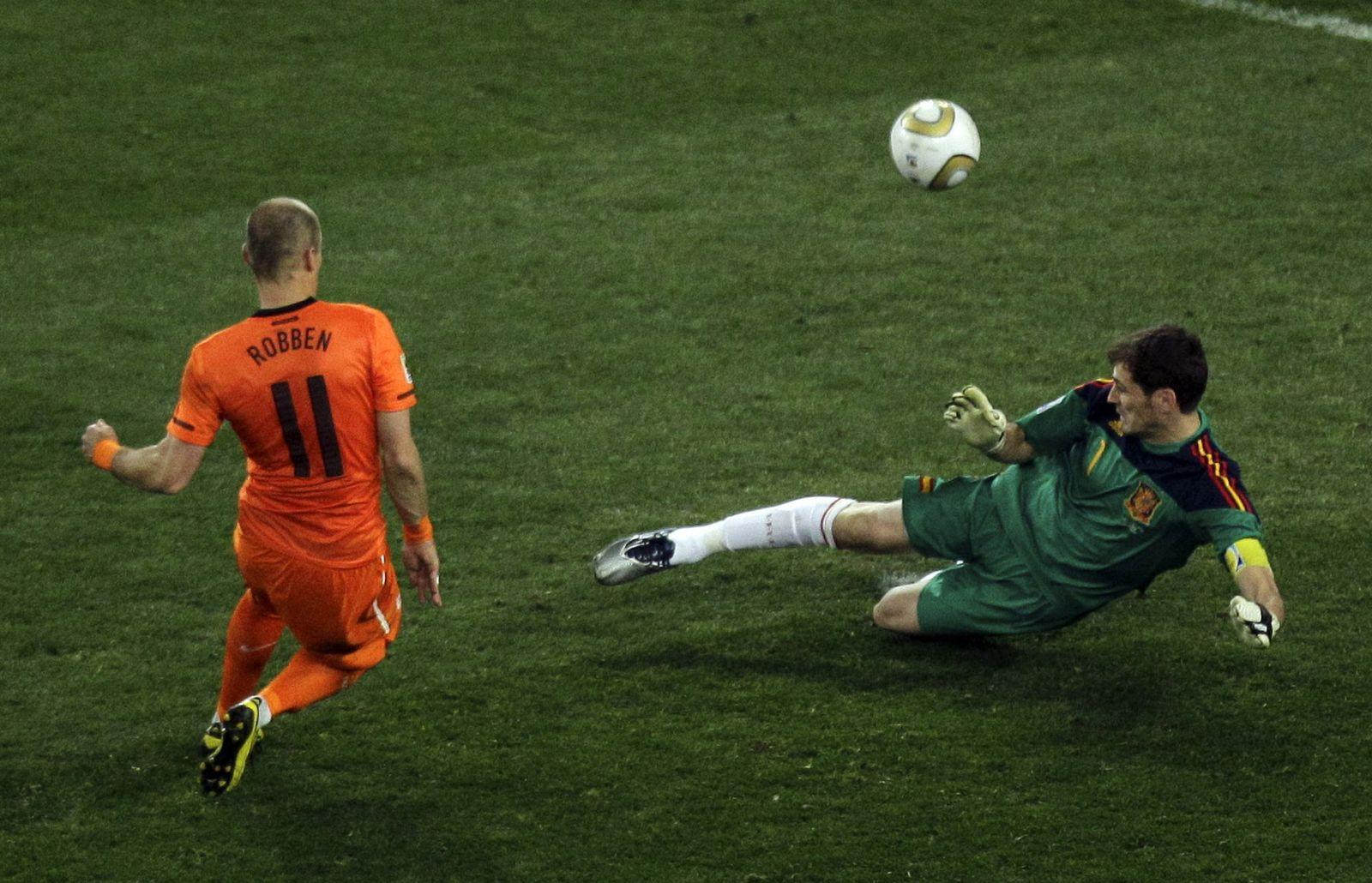 Südafrika/ Robben/ Casillas