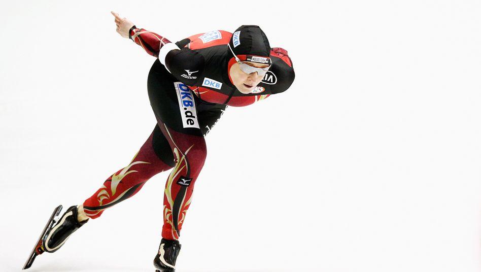 Eislaufstar Pechstein: Mit 42 zur 40. WM-Medaille