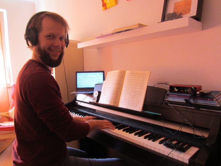 Paul Krämer, 30, freiberuflicher Chorleiter