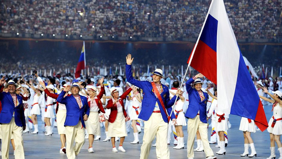Russisches Olympia-Team (2008 in Peking)