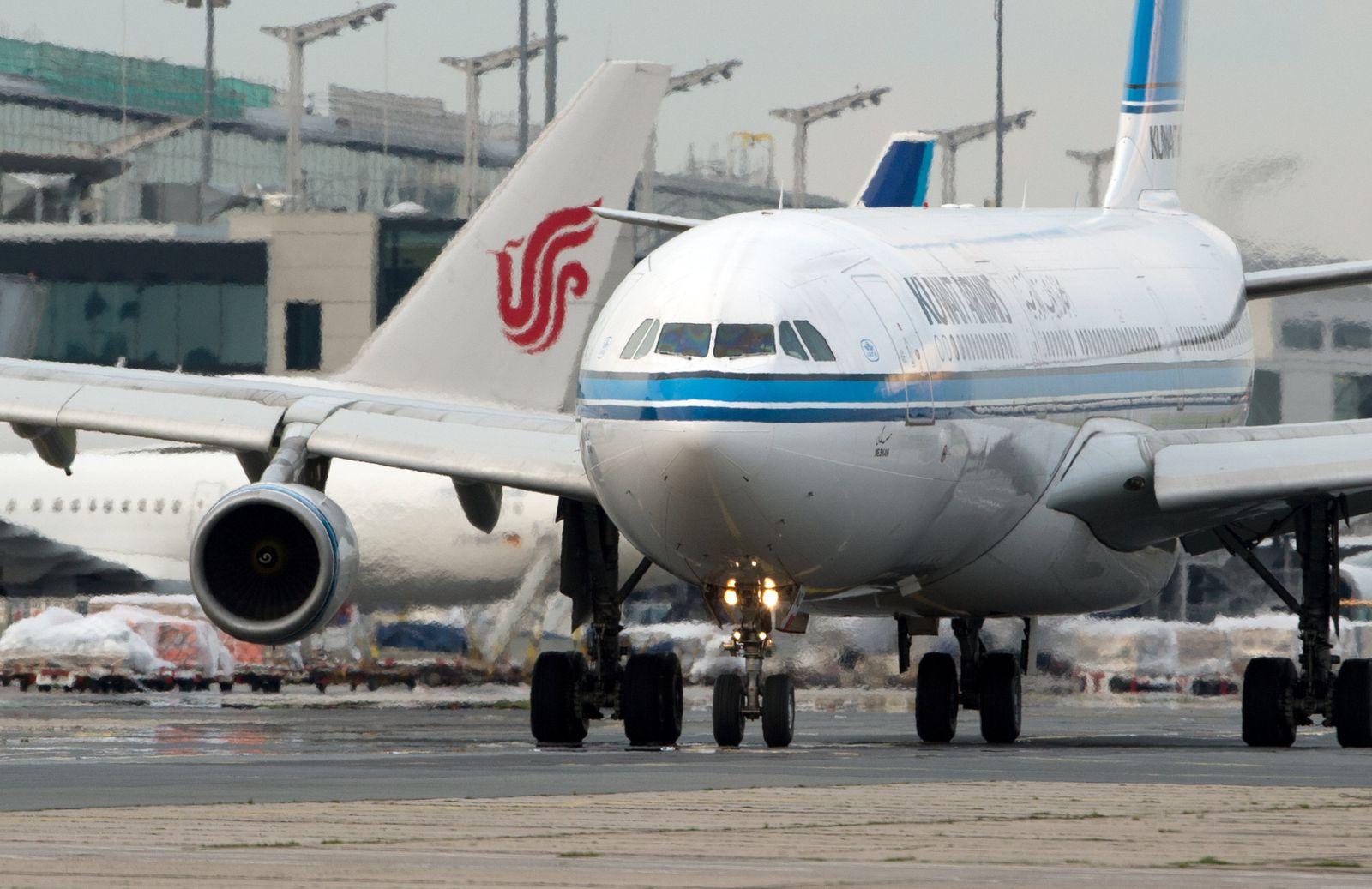 Passagiermaschine Kuwait Airways