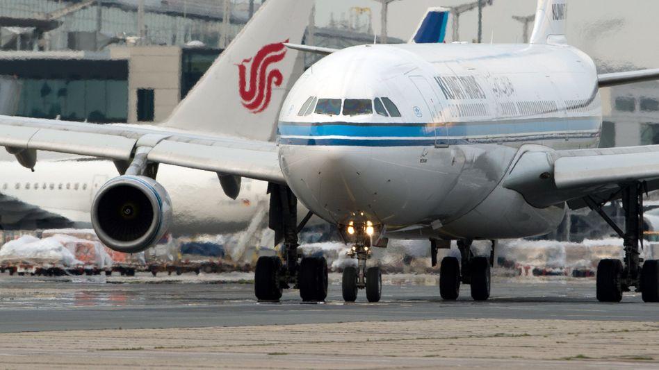 Maschine der Kuwait Airways in Frankfurt (Archivbild)